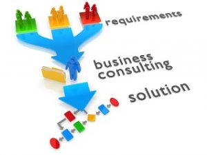 render of a business consulting concept
